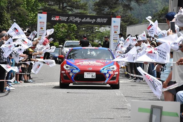 TOYOTA GAZOO Racing ラリーチャレンジ in恐竜勝山2019