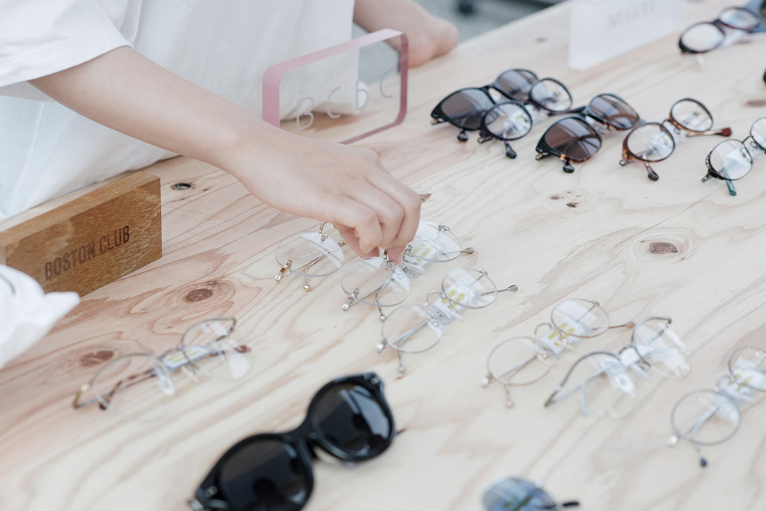 メガネフェス 眼鏡のポップアップストア