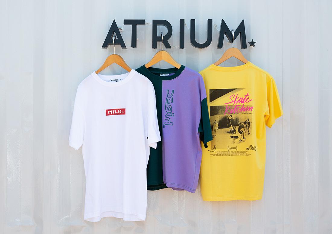 『ATRIUM』でオシャレをエンジョイ!