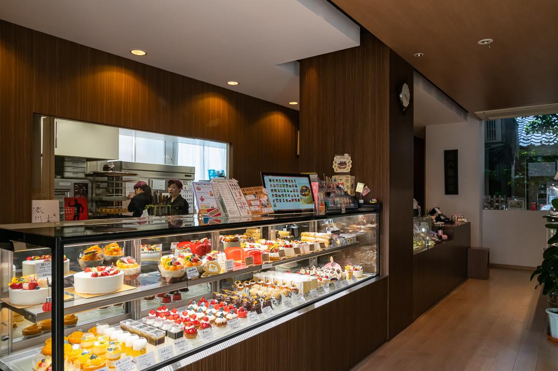 洋菓子 FUJIMIDO 店内