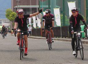 若狭路の絶景、ペダルこぎ堪能 サイクリング大会