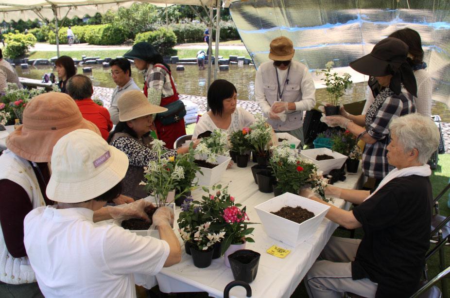 フラワーグリーンフェア2019 第9回みどりと花の県民運動大会