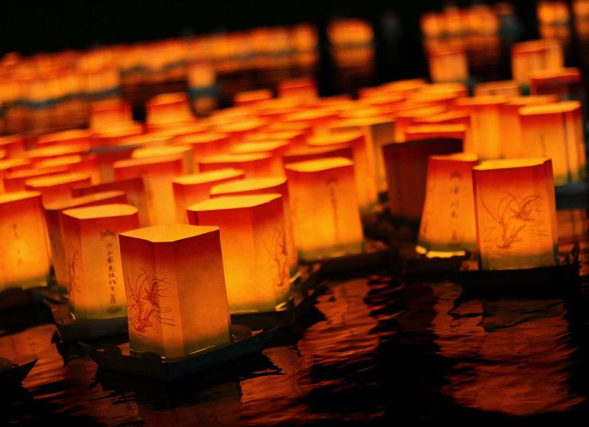 第32回永平寺大燈籠ながし