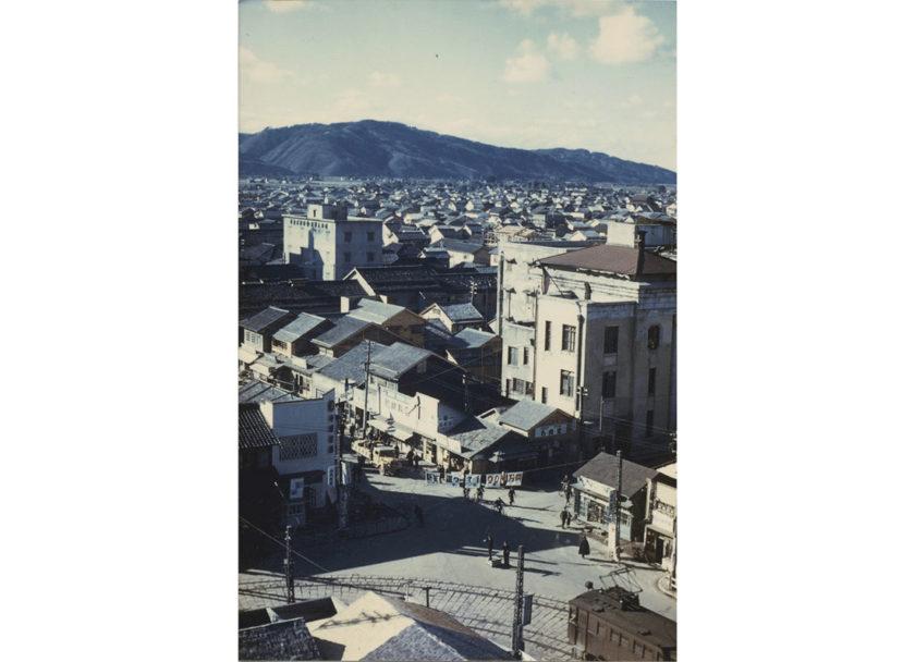 カラー写真が伝える震災前後の福井