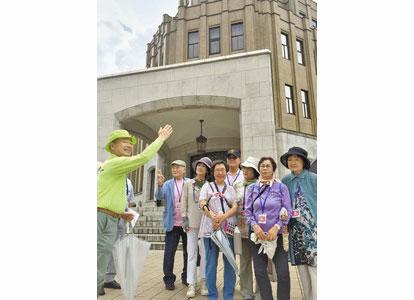 福井の歴史興味深い 探訪ウオーク 博物館や地裁巡る
