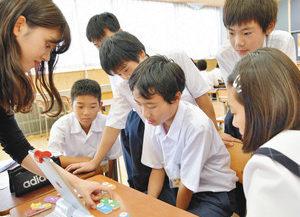 【地域】興味引くSDGs9講座 丸岡南中 生徒環境保全考える