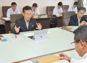 【地域】杉本知事査定スタート 補正予算案300億円規模