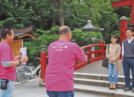 【地域】記念写真「撮影します」 敦賀の名所で魅力発信