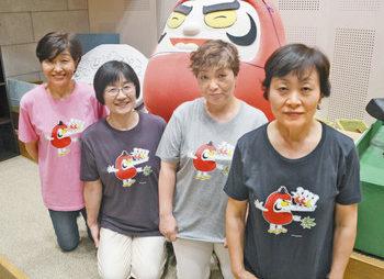 【地域】胸に加古さん作品キャラ 越前市絵本館、Tシャツ発売