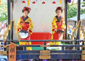 【地域】曳山 佐伎治神社に集結 高浜七年祭