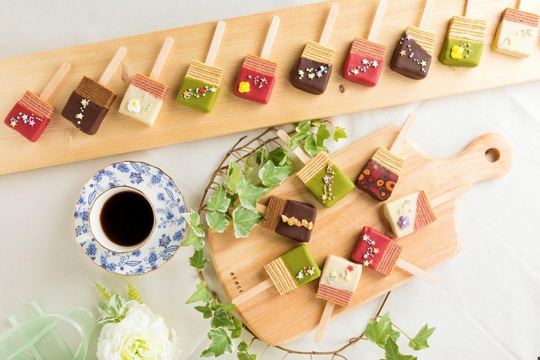 """お取り寄せ(楽天) CHOCOLAT BAR """"ショコラバー"""" 8本 VIVANTびばぁーん(出雲記念館) 価格2,635円 (税込)"""