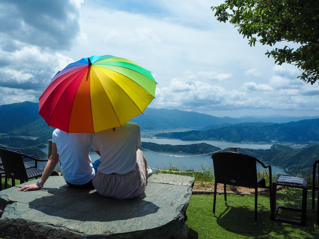 レインボーライン山頂公園