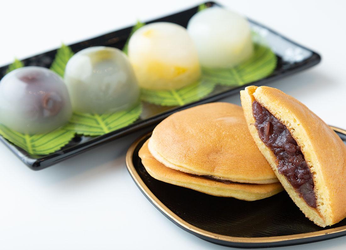 老舗菓子処のバラエティ豊かな和菓子たち!