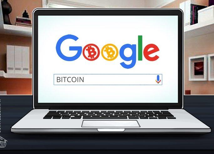 仮想通貨ビットコインのグーグル検索数、1万ドルの熱狂に追いつき始める。