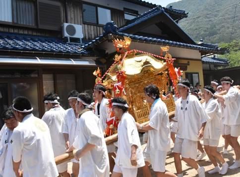 夏休み自由研究企画展 敦賀の祭り