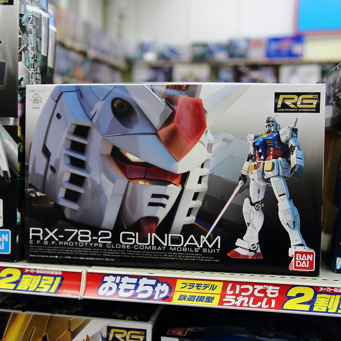 RX-78-2 GUNDAM【RG】1/144スケール