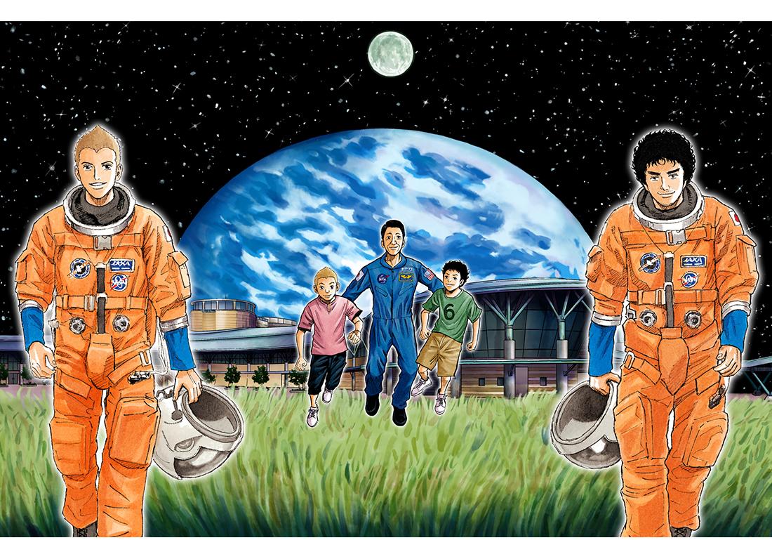 """【7/20~】『宇宙兄弟』で感じる""""宇宙飛行士ってすごい!"""""""