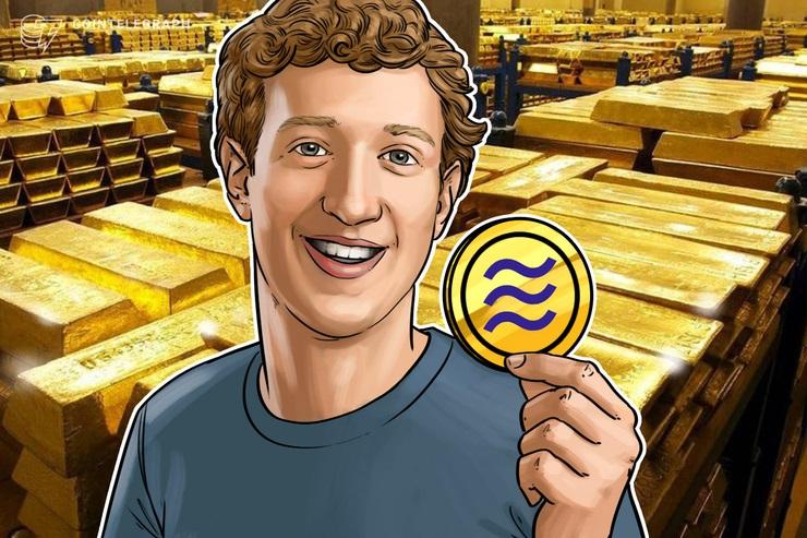「仮想通貨リブラは金で裏付けた方が良い」フォーブス編集長がフェイスブックCEOに提案