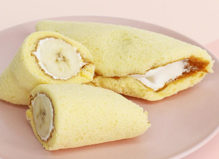 今日のおやつは、ラ・メールオオカベのバナナオムレット♪