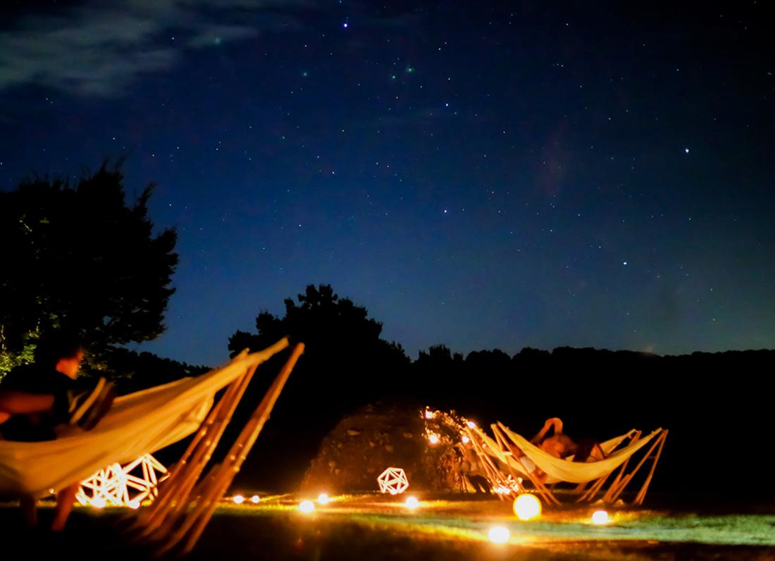 日本一の星空をロマンチック空間で。流星群は必見!
