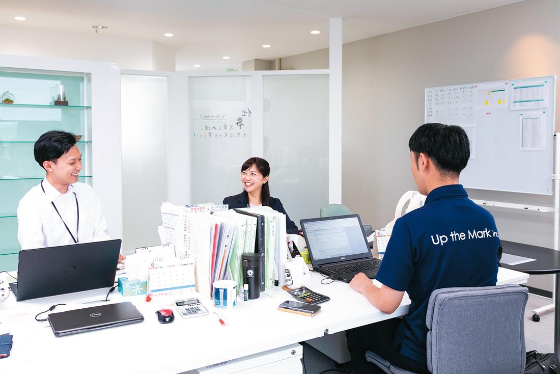 株式会社 Up the Mark FUKUIアップザマークフクイ 入社2年目 南 優香みなみゆうか さん