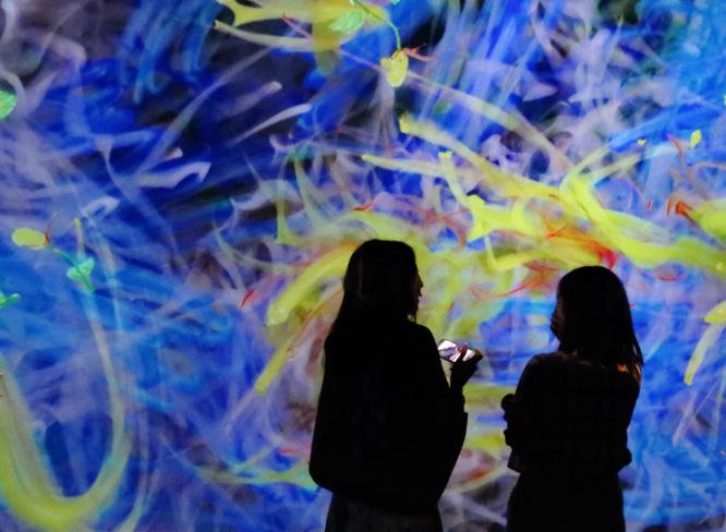金沢で開催中!!チームラボのデジタルアートを体感レポ
