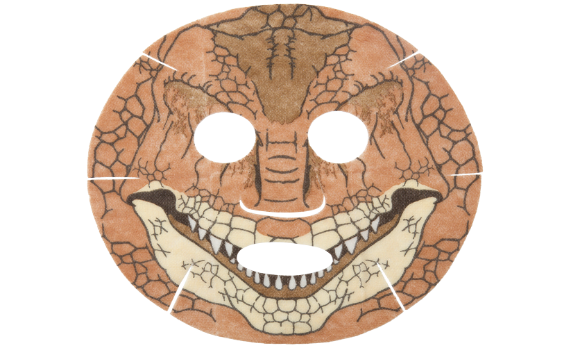 フクイラプトル恐竜フェイスパック