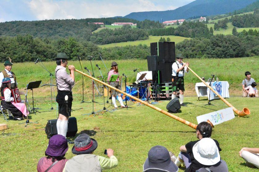 六呂師高原アルプス音楽祭2019