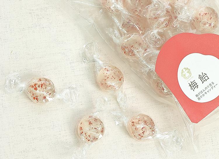 今日のおやつは、BENTOで手に入る、和歌山県の『紀州梅専門店五代庵』の梅飴♪
