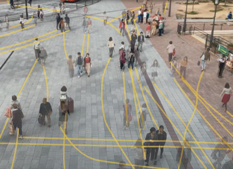 【10/12〜】視えない動線を可視化した新たなギャラリー!