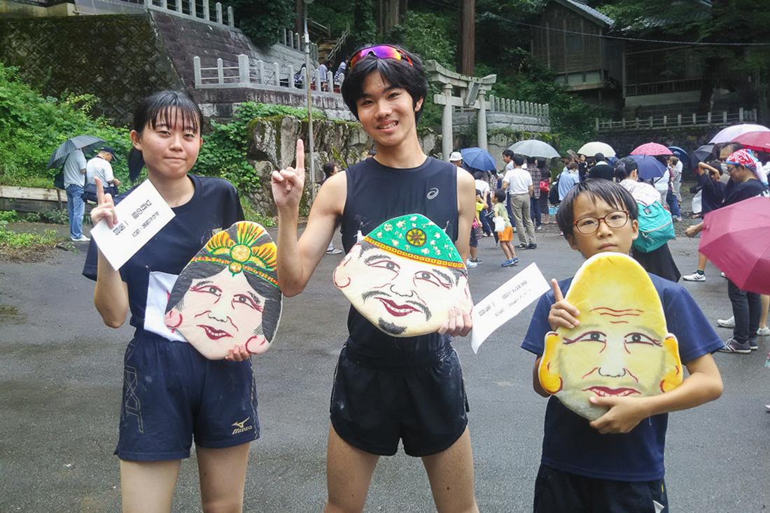 中道アート2019特別企画 かわだ福男・福女 ~敷山神社を走ろう~