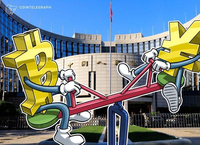 仮想通貨ビットコインと人民元、記録的な逆相関関係 やはり仮説通りの展開だったか