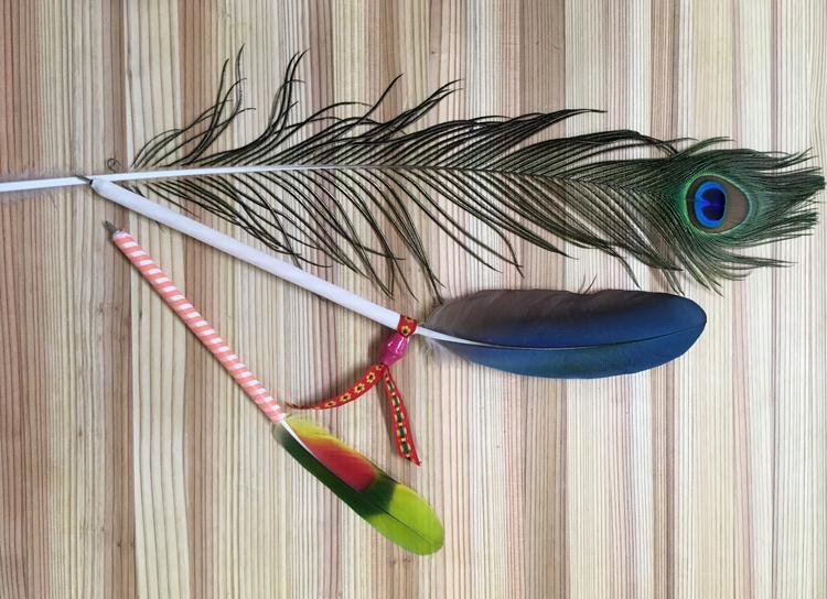 【9/8】美しい鳥の羽で世界に二つとないペン作りを。