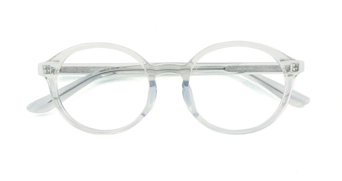 ラウンドでクセの強いセルフレームを、顔に馴染むハイセンスなレトロフューチャーモデルでかけやすくデザイン。他とは違うメガネをお探しの方は是非! ユニセックスデザインなので男女どちらでもOK。カラーレンズを入れてフッションサングラスにもできます。意外と汎用性の高いお洒落フレームです。(8,000円+税)