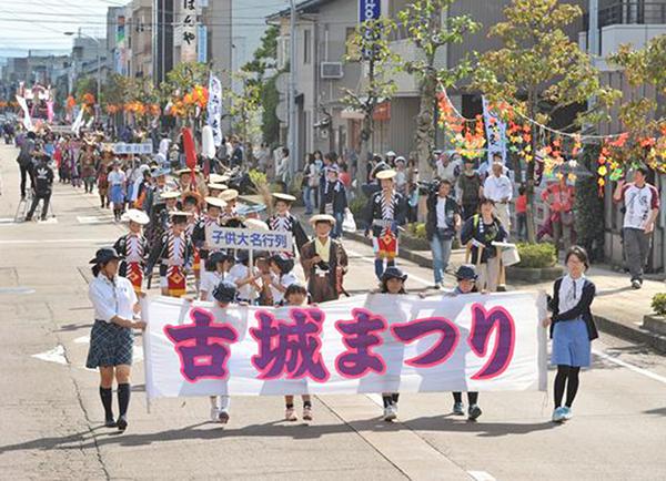 【中止】丸岡伝統の祭り開催。丸岡城がキャンバスとして光輝く!