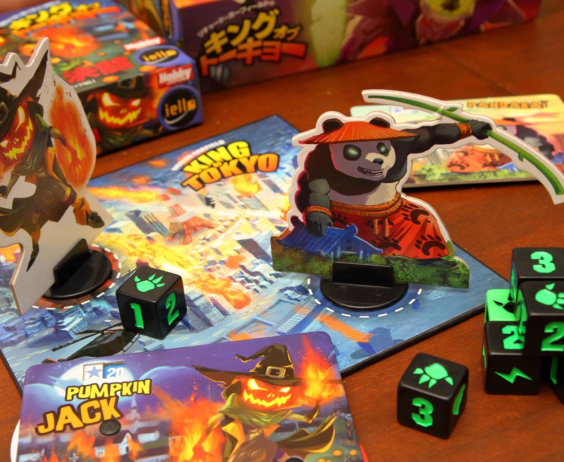 ハロウィンらしく!! ダークでホラーなボードゲームでワイワイ。
