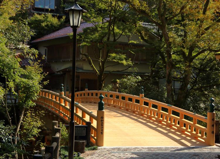 令和で生まれ変わった。山中温泉のシンボル・四代目『こおろぎ橋』誕生。