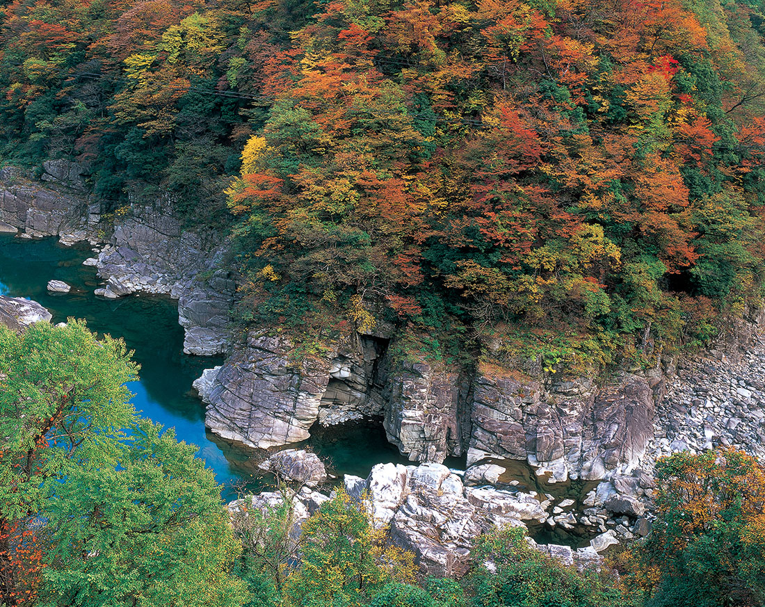 九頭竜峡(くずりゅうきょう)