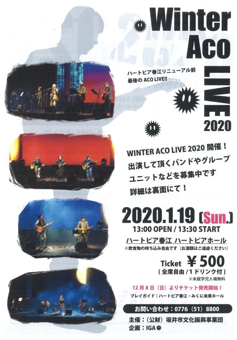 WINTER ACO LIVE 2020