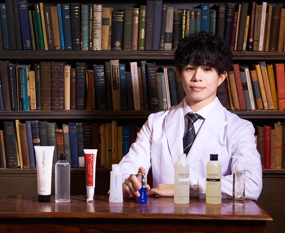 福井初登場! 美容化学者「かずのすけ」のコスメ『CeraLabo』期間限定ショップ