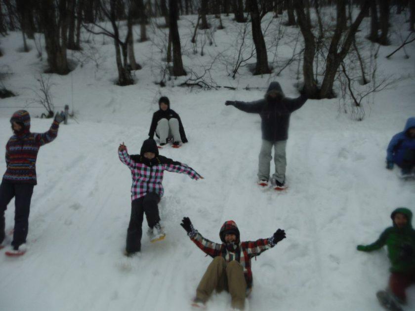 雪を満喫!大人のスノーフィールド