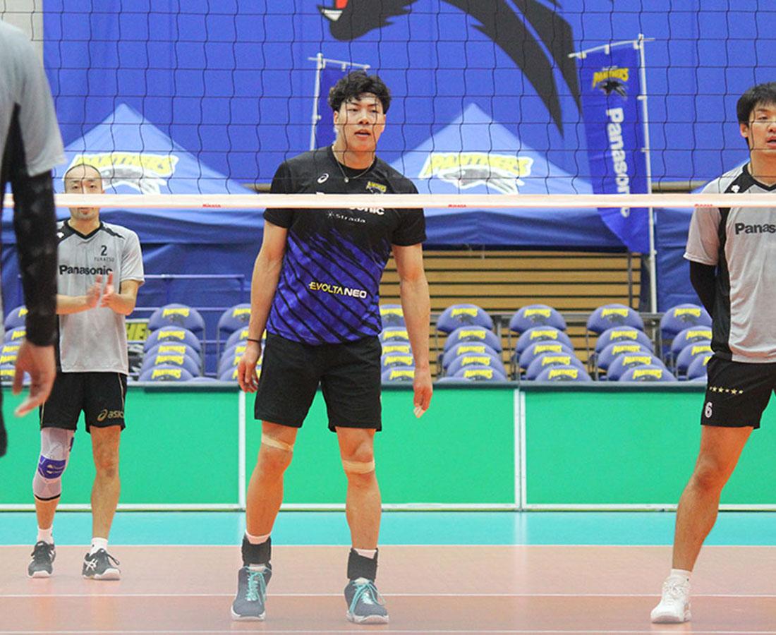 「子どもたちの憧れに」。バレー男子・清水選手が福井での開幕戦に登場。