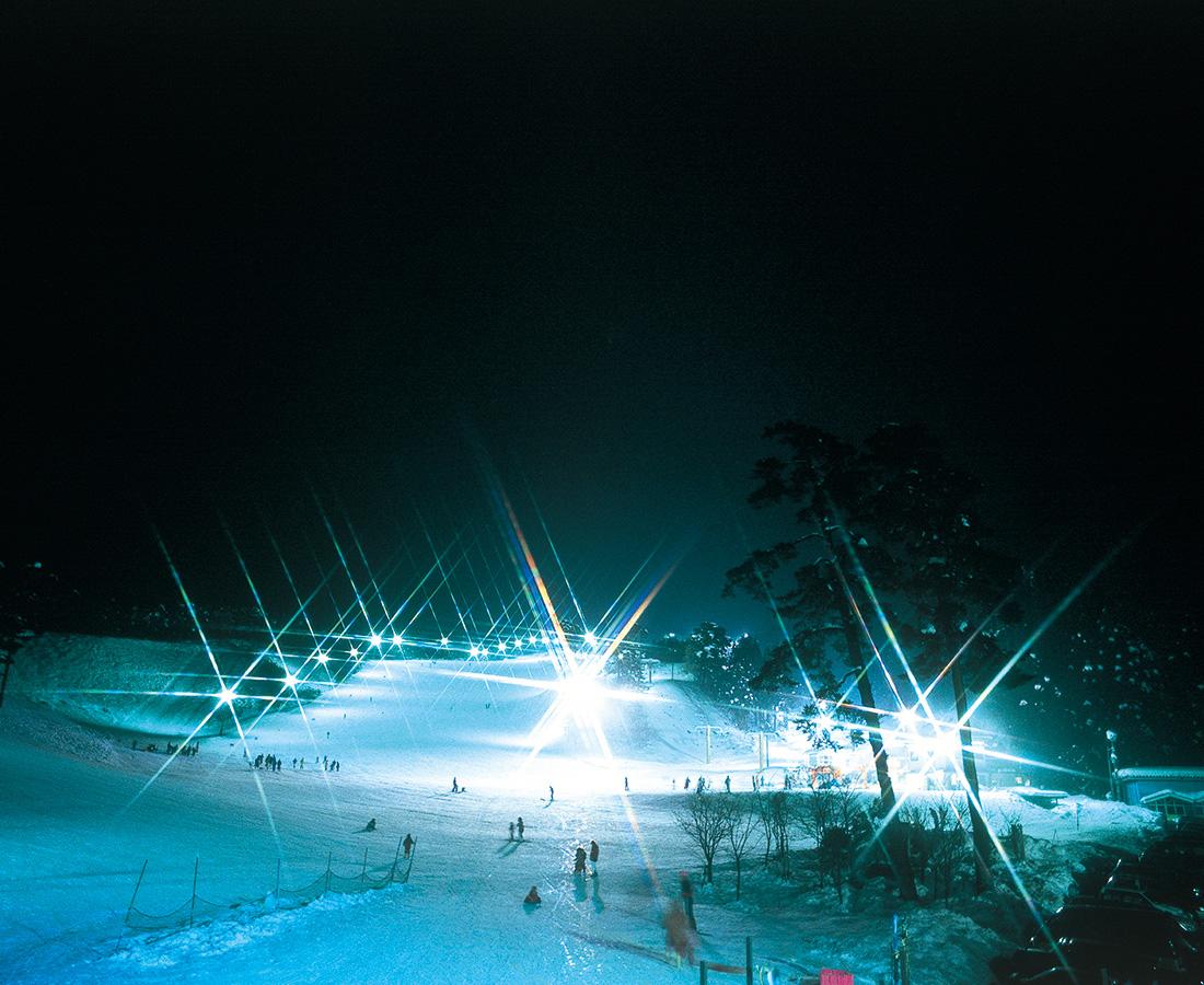 県内外で人気のイベント、年に1度のオールナイトスキー!