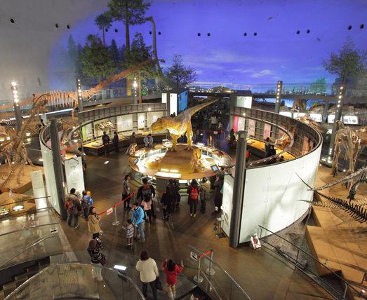恐竜化石発掘量日本一の福井が世界に誇る恐竜博物館!