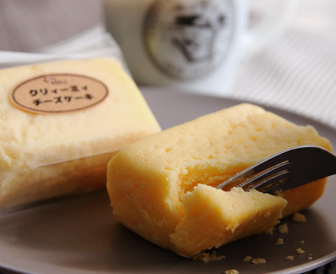 オレボで買える『くになかのケーキ屋さん』クリィーミィチーズケーキ♪
