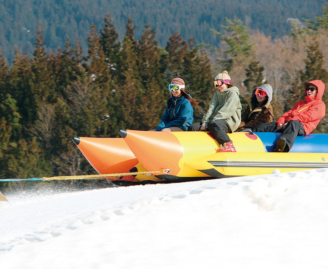 想像以上のスピード! 注目の雪上アクティビティーをスキージャム勝山で!