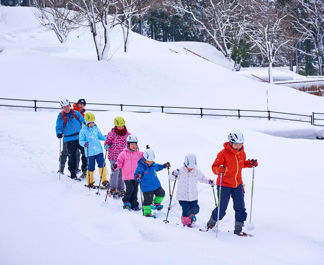 大人も子どもも スノーシューで大自然の中へ!