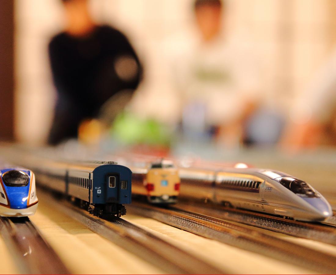 16両編成えち鉄も‼ 走りが自由過ぎて面白いッ‼「梅鉄会」の鉄道模型走行会とは。