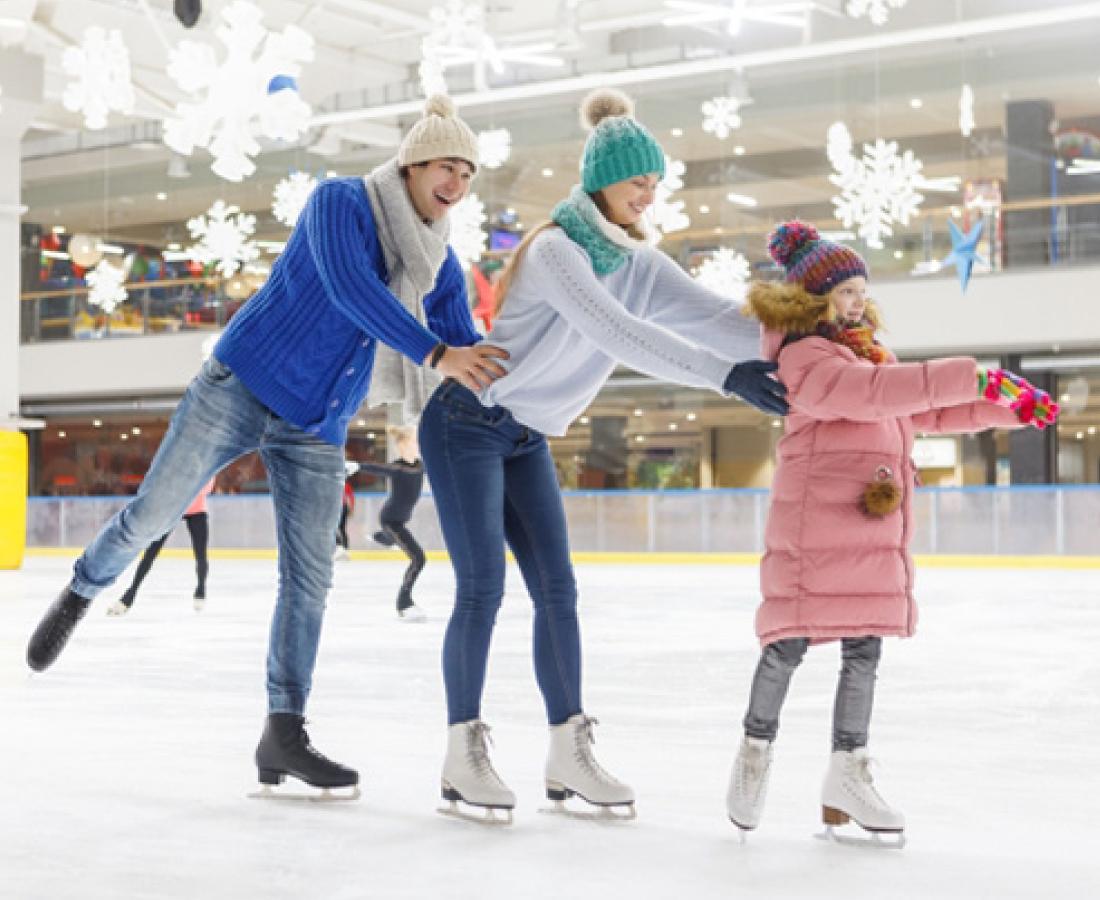 【12/20~】福井駅前で気軽に楽しめるスケート場、ハピリンクが今年も登場!