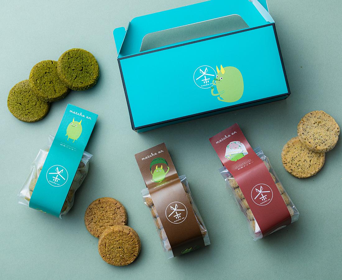 厳選クッキー3種類セット/抹茶庵